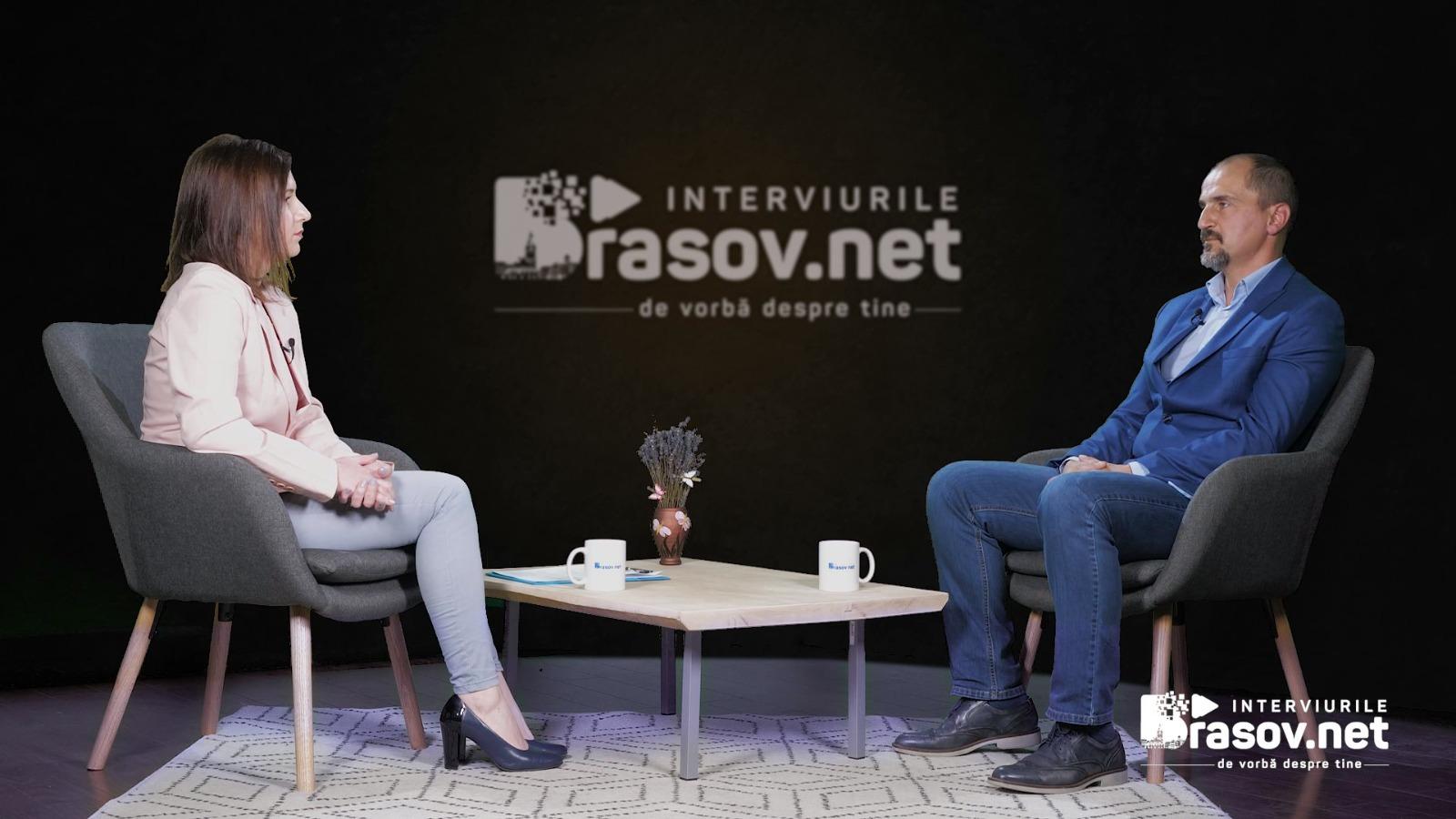 Interviurile Brasov.net – De vorbă despre tine – Episodul 7, InvitatZoltan Szenner