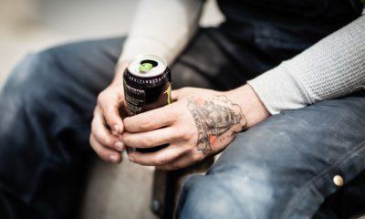 black soda can